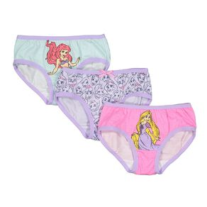 Disney Princess Girls' Brief 3 Pack