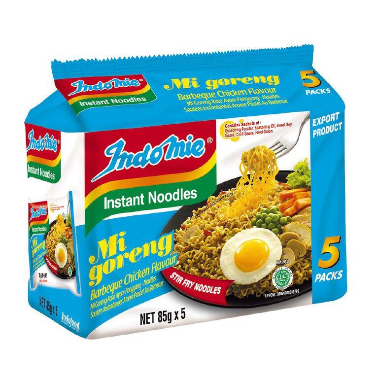 Indomie Mi Goreng BBQ Chicken 85g 5 pack, , hi-res