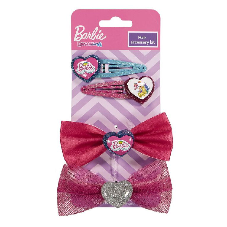 Barbie Hair Accessory 4 Piece Kit, , hi-res