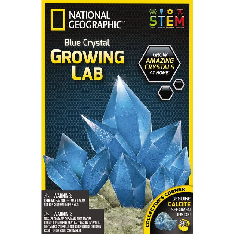 National Geographic Crystal Growing Kit Assorted, , hi-res