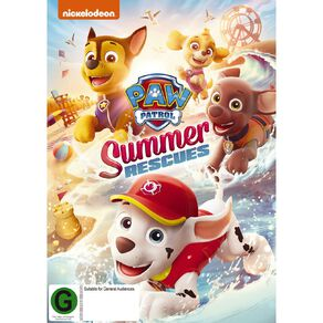 Paw Patrol Summer Rescues DVD 1Disc