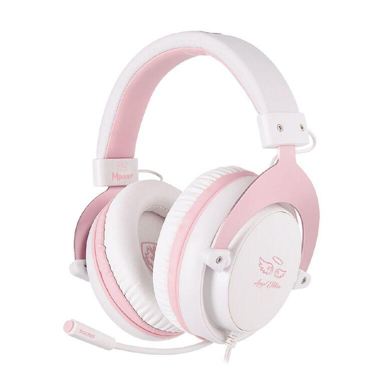 SADES M-Power Gaming Headset Pink, , hi-res