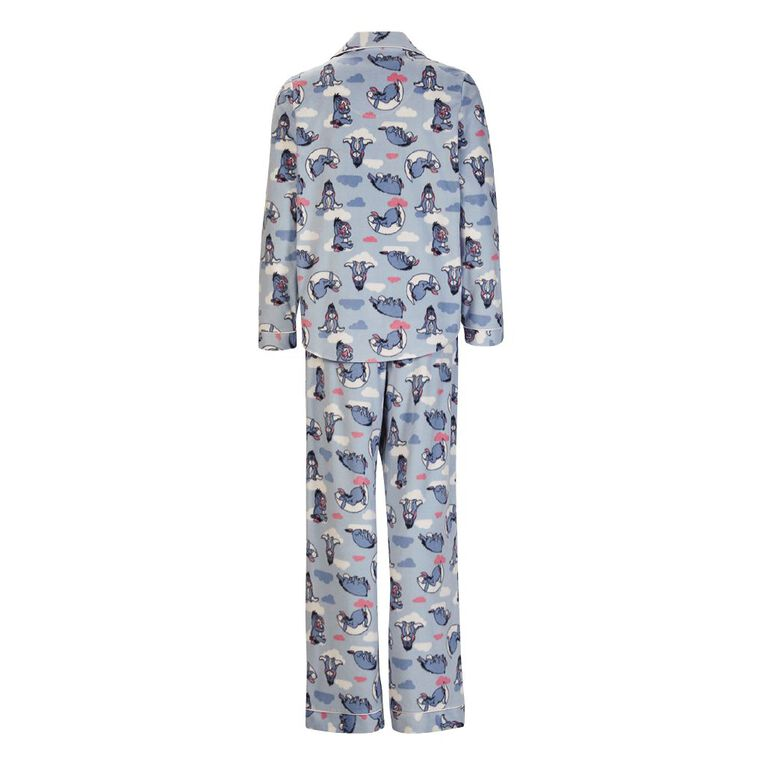 Eeyore Disney Women's Fleece PyjamaSet, Blue Mid, hi-res