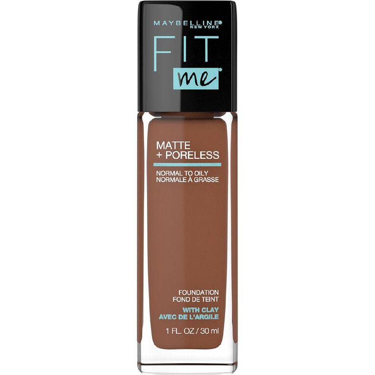 Maybelline Fit Me Matte & Poreless Liquid Foundation - Deep Bronze, , hi-res