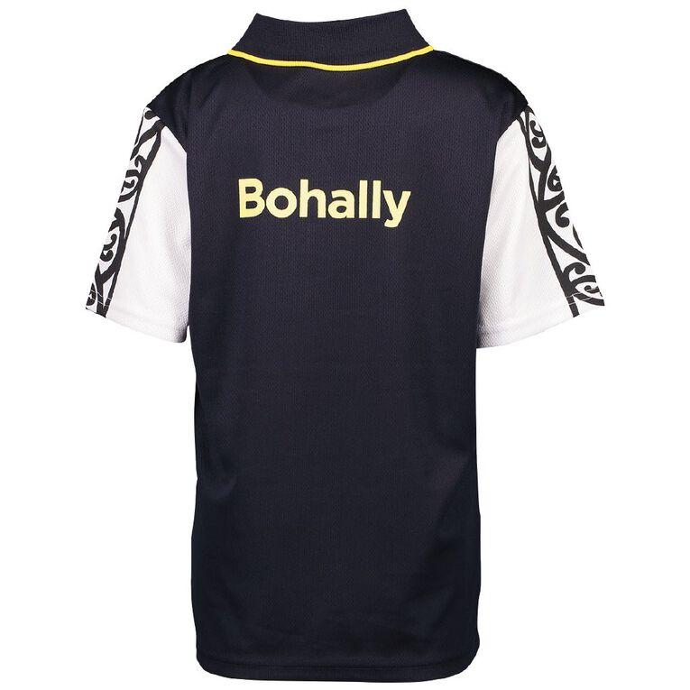 Schooltex Bohally Intermediate Sport Top with Screenprint, Navy, hi-res