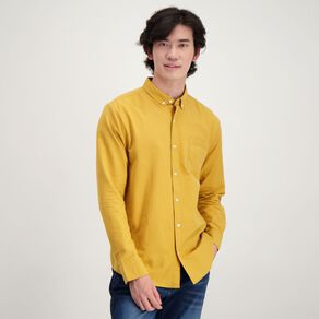 H&H Men's Long Sleeve Classic Oxford Shirt