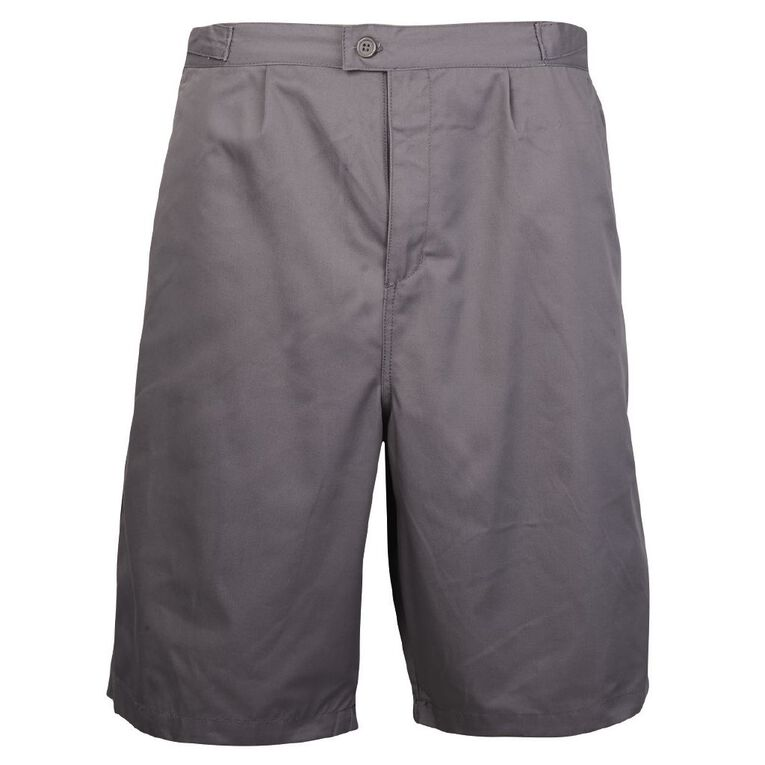 Schooltex School Summer Shorts, Grey, hi-res