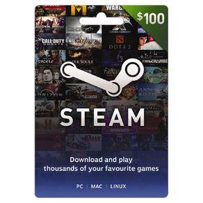 Steam Game Card $100