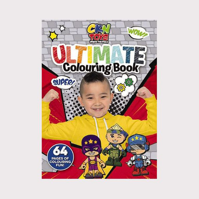 CKN Toys: Ultimate Colouring, , hi-res