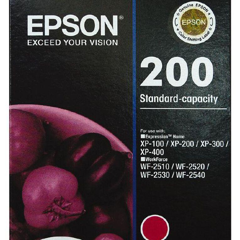 Epson Ink 200 Magenta (165 Pages), , hi-res