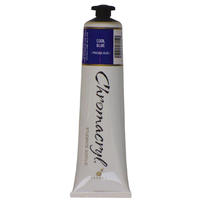 Chromacryl Paint Blue 75ml, , hi-res