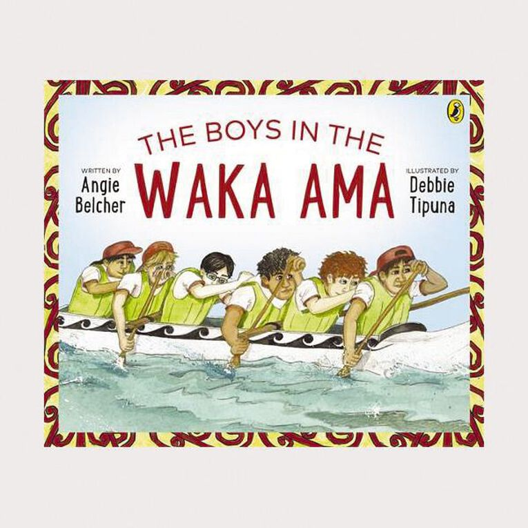 The Boys in the Waka Ama by Angie Belcher, , hi-res