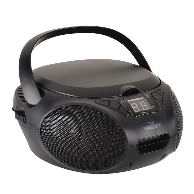 Veon CD Boombox VN1122018 Black, , hi-res