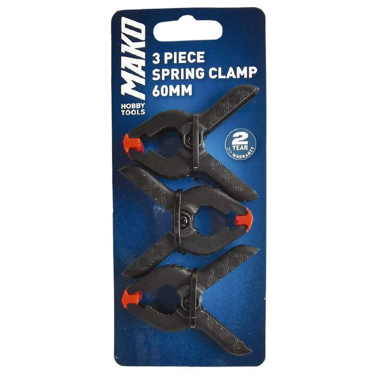 Mako 3 piece Spring Clamp 60mm, , hi-res