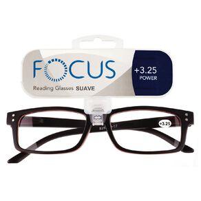 Focus Reading Glasses Men's Suave Power 3.25