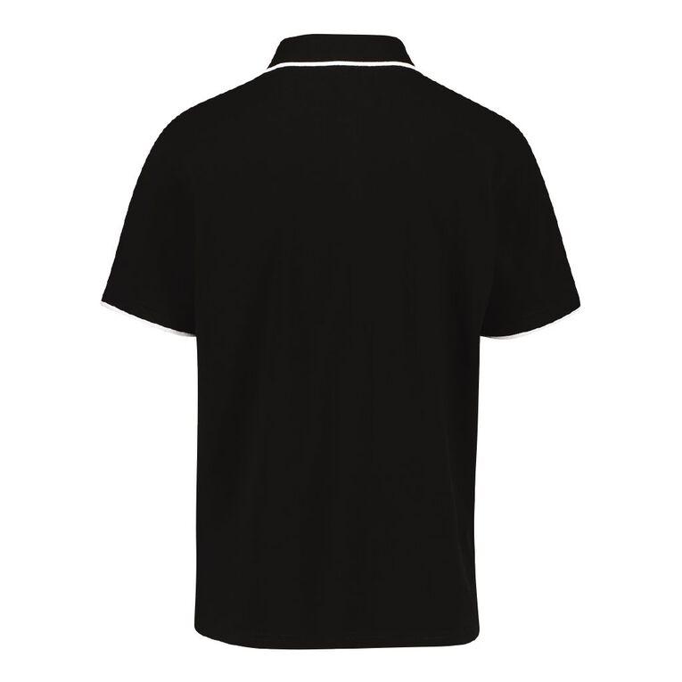 Team Nz Men's Polo, Black, hi-res image number null