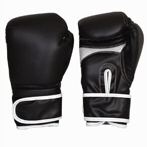 Active Intent Fitness Boxing Glove Black 12oz