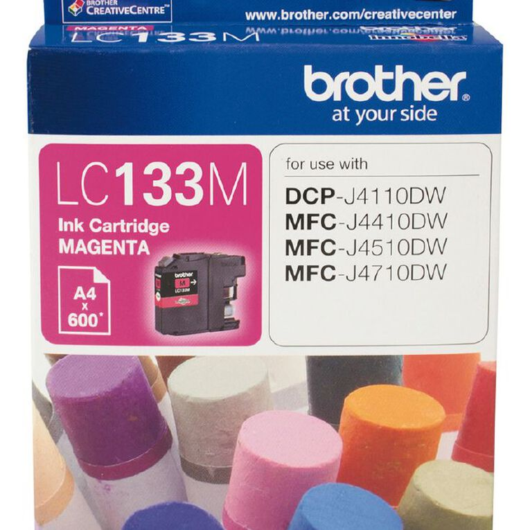 Brother Ink LC133 Magenta (600 Pages), , hi-res