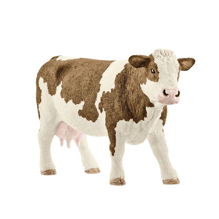 Schleich Simmental Cow, , hi-res