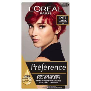 L'Oreal Paris Preference London Very Intense Red P67