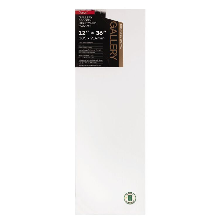 Jasart Gallery 1.5 inch Thick Edge Canvas 12x36 inches, , hi-res