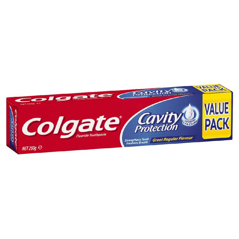 Colgate Max Cavity Protection Great Regular Flavour 250g, , hi-res
