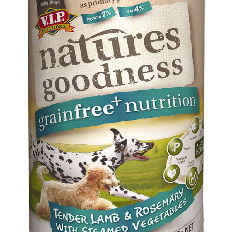 Natures Goodness Dog Lamb/Rosemary and Steamed Vegetables 400g, , hi-res image number null