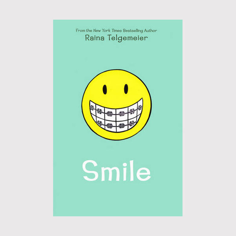 Smile by Raina Telgemeier, , hi-res