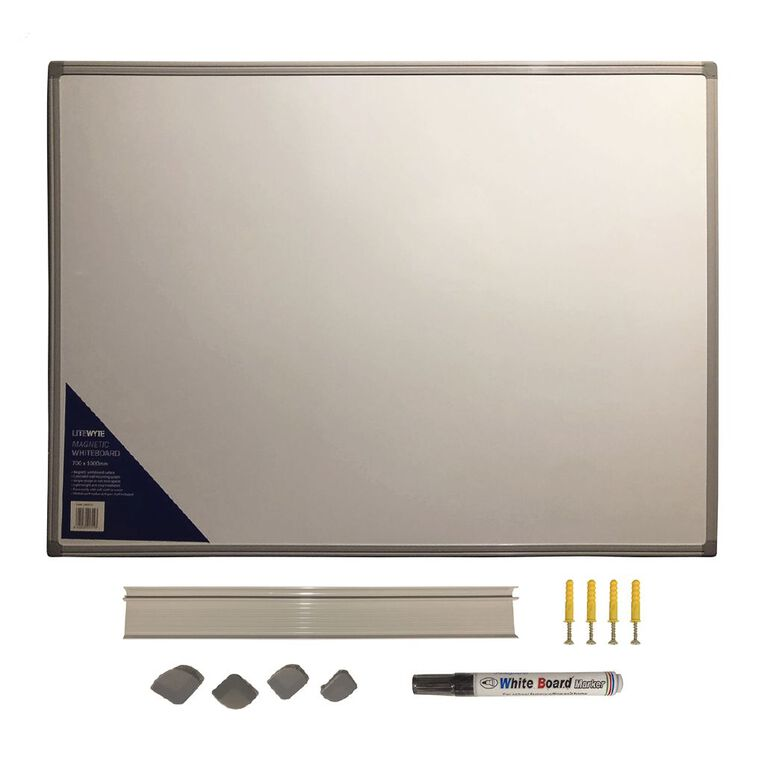 Litewyte Whiteboard 700mm x 1000mm, , hi-res