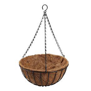 Kiwi Garden Hanging Basket with Liner 30cm