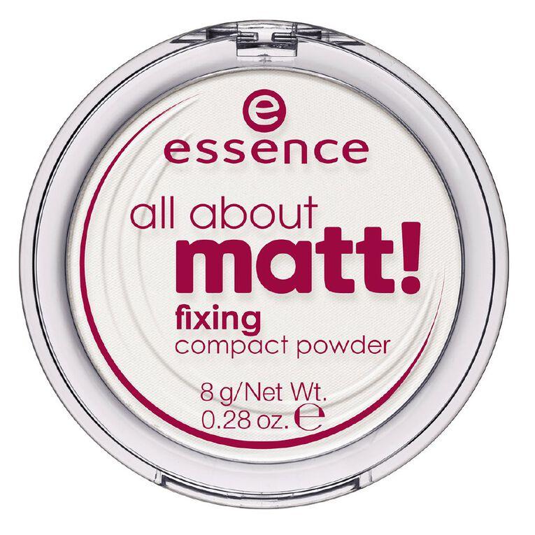 Essence All About Matt! Fixing Compact Powder, , hi-res