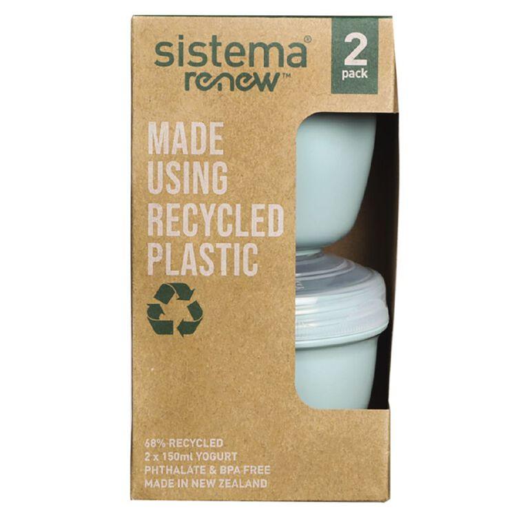 Sistema Yogurt Renew 2 Pack Assorted 150ml, , hi-res image number null