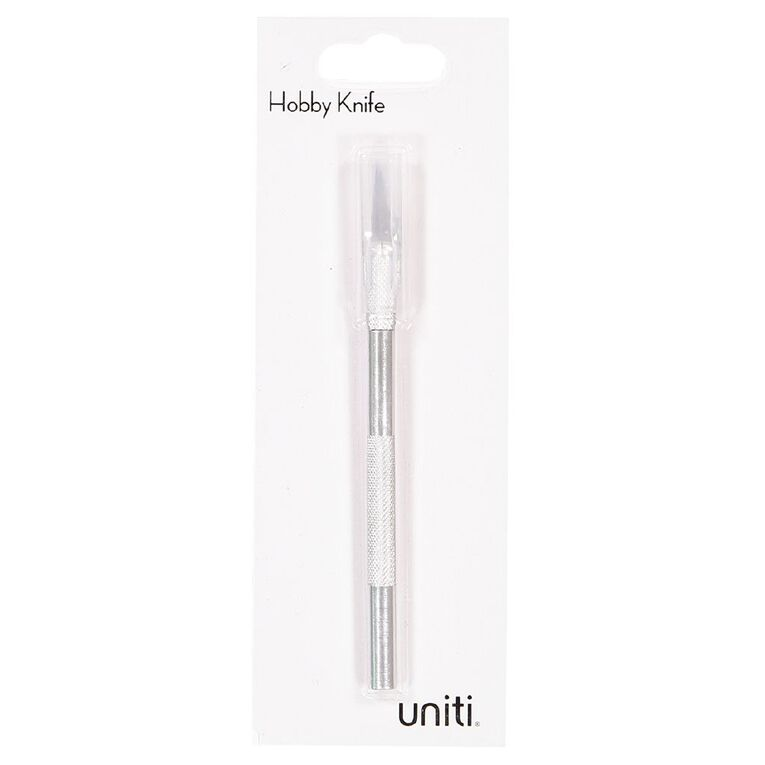 Uniti Hobby Knife Silver Grey, , hi-res image number null