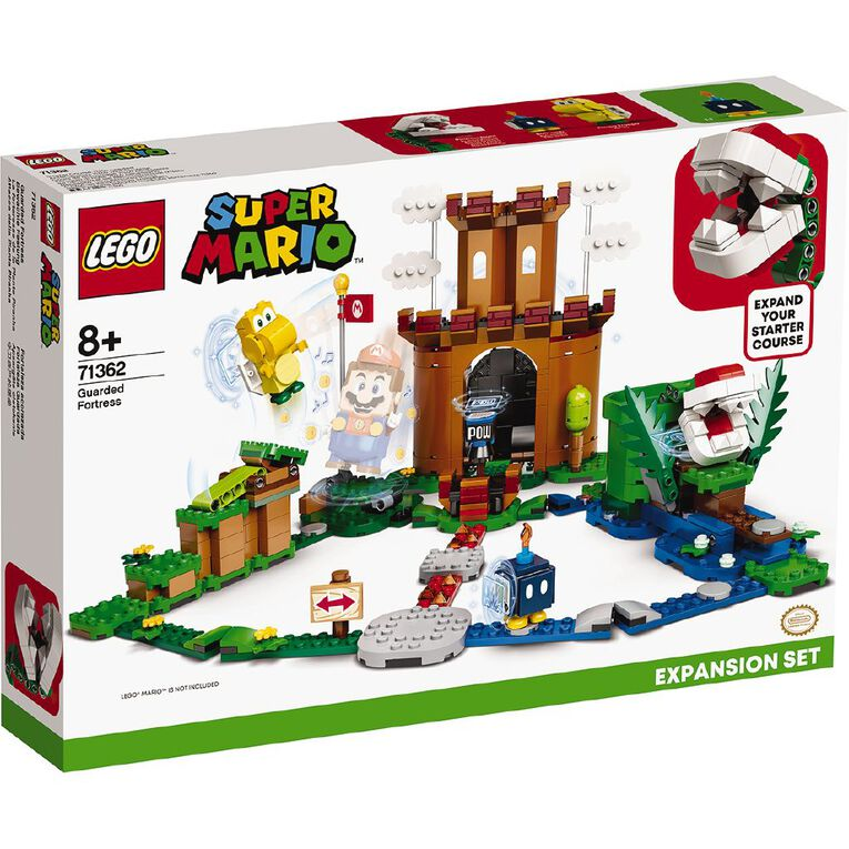LEGO Super Mario Guarded Fortress Expansion Set 71362, , hi-res image number null