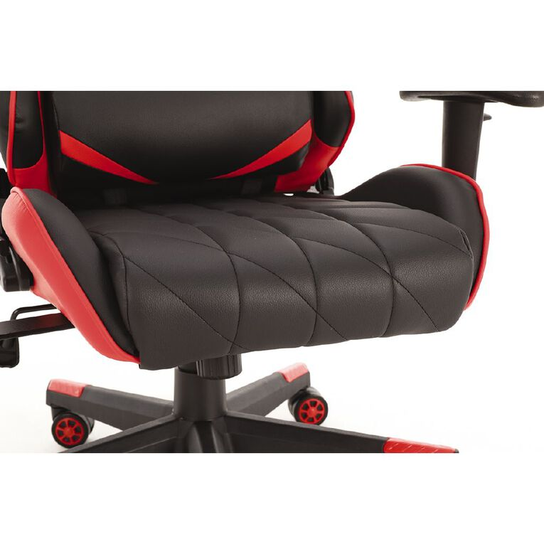 Playmax Elite Gaming Chair Red & Black, , hi-res