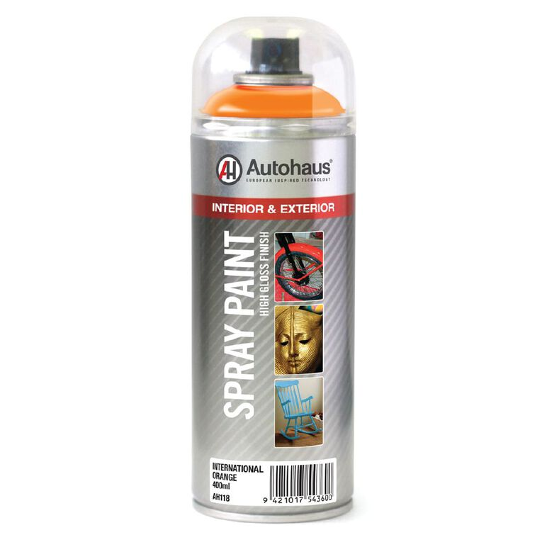 Autohaus Spray Paint International Orange 400ml, , hi-res