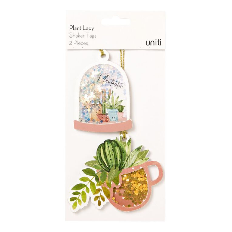 Uniti Plant Lady Shaker Tags 2 Piece, , hi-res image number null