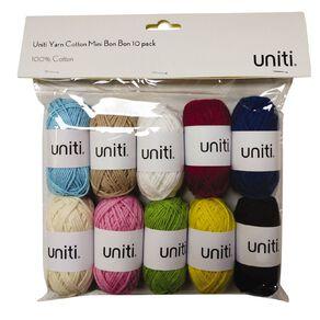 Uniti Yarn Cotton Mini Bon Bon 10 pack