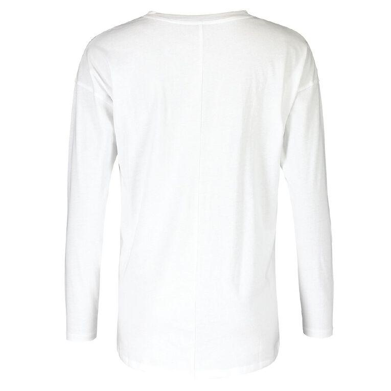 H&H Women's Long Sleeve, White, hi-res