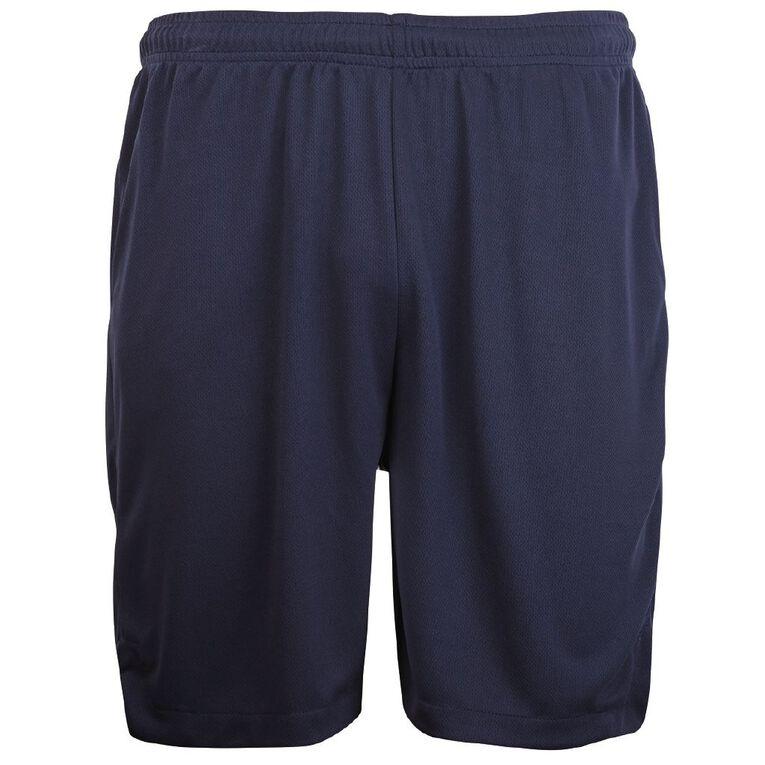 Schooltex Sport Shorts, Navy, hi-res