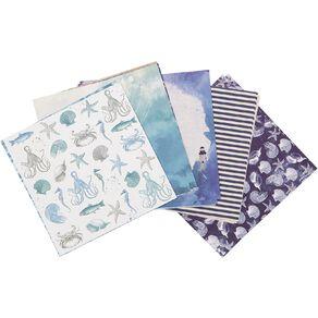 Uniti Designer Paper 6x6 24 Sheets Oceania
