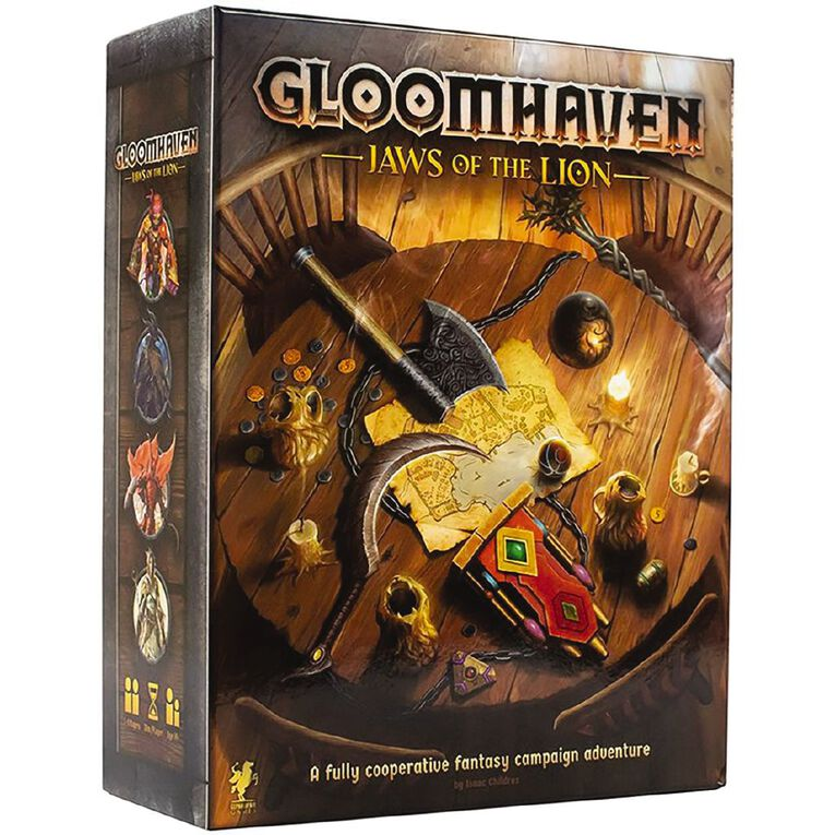 Gloomhaven Jaws of Lion, , hi-res