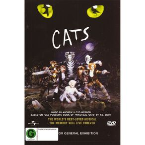 Cats The Musical DVD 1Disc