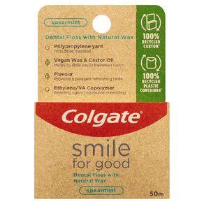 Colgate Smile for Good Dental Floss Spearmint 50m