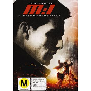 Mission Impossible 1 DVD 1Disc