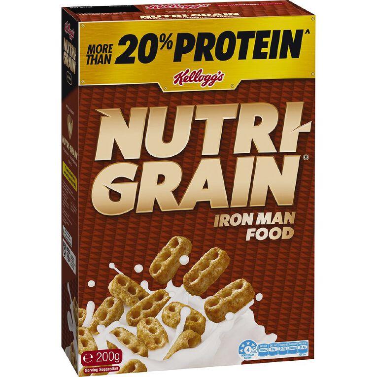 Kelloggs Nutri Grain Cereal 200g, , hi-res