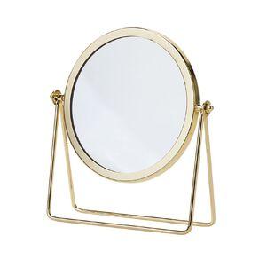 Living & Co Round Vanity Mirror Gold 22cm