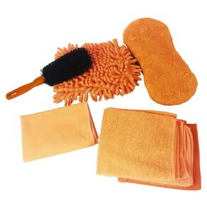 Mako Microfibre Cleaning Kit 7 Piece