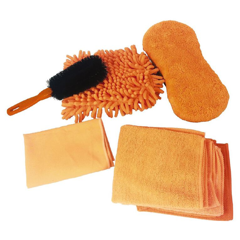 Mako Microfibre Cleaning Kit 7 Piece, , hi-res