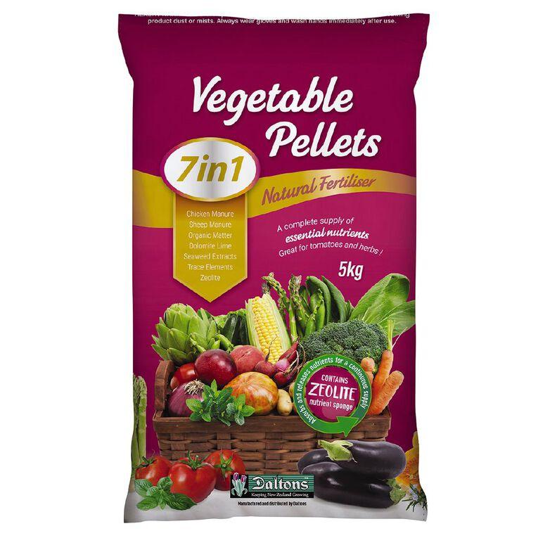Daltons 7-in-1 Vegetable Fertiliser Pellets 5kg, , hi-res